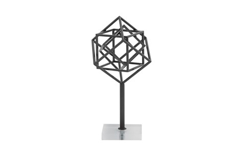 Metal Acrylic Sculpture