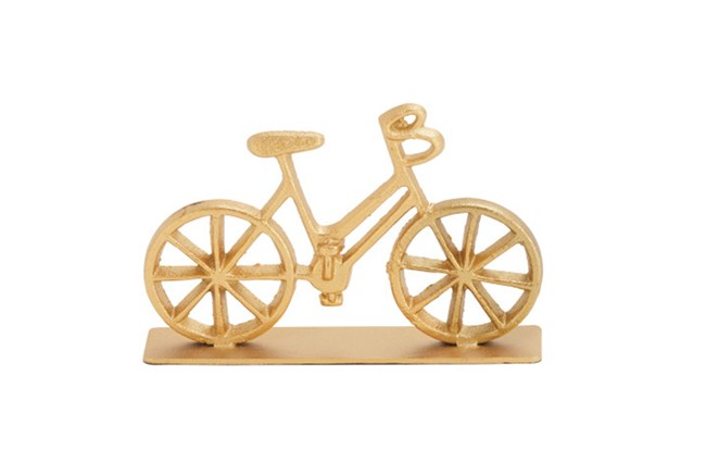 Metal Gold Bicycle - 360