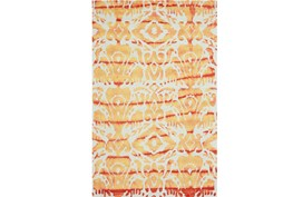 60X96 Rug-Orange Tie Dye Ikat