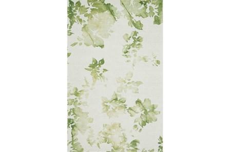 114X162 Rug-Green Tie Dye Greenery - Main