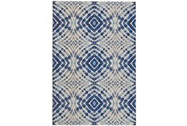 26X48 Rug-Royal Blue Kaleidoscope