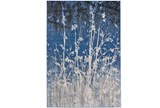 26X48 Rug-Royal Blue Meadow - Signature