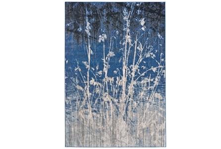 63X90 Rug-Royal Blue Meadow