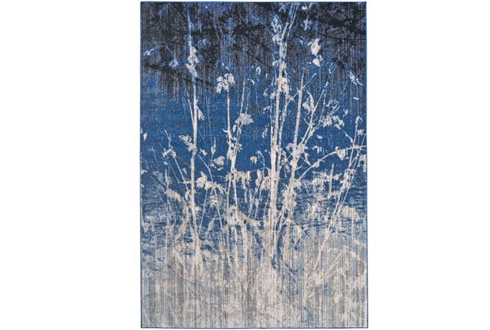 94X132 Rug-Royal Blue Meadow