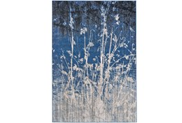 94X132 Rug-Royal Blue Meadow