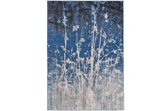 94X132 Rug-Royal Blue Meadow - 360