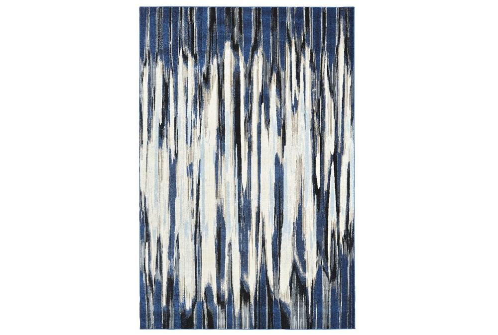 """10'2""""x13'7"""" Rug-Royal Blue Watermark Strie"""