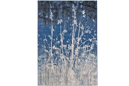 122X165 Rug-Royal Blue Meadow