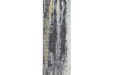 31X96 Rug-Royal Blue Meadow
