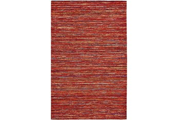 5'x8' Rug-Cyril Red