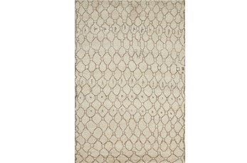 24X36 Rug-Undyed Natural Wool Organic Geometric