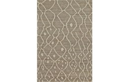 """8'5""""x11'5"""" Rug-Undyed Natural Wool Moroccan Print"""