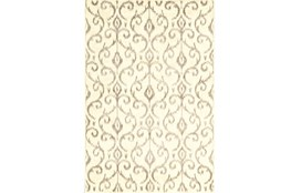 120X158 Rug-Cream And Grey Scroll