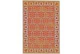 26X48 Rug-Vibrant Orange And Yellow Tapestry - Signature