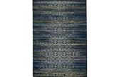 96X132 Rug-Cobalt Distressed Tapestry - Signature