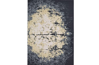 60X96 Rug-Grey And Ivory Burnout