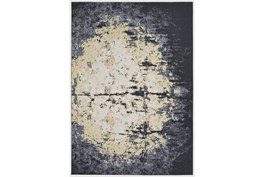 """10'x13'1"""" Rug-Grey And Ivory Burnout"""
