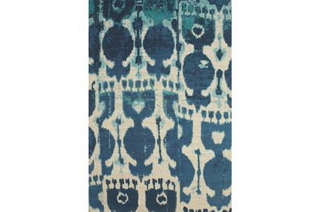 48X72 Rug-Yyves Blue And Teal