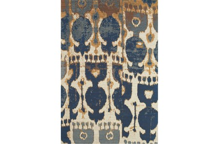 60X96 Rug-Yves Navy And Copper - Main