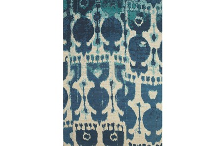 96X132 Rug-Yyves Blue And Teal - Main