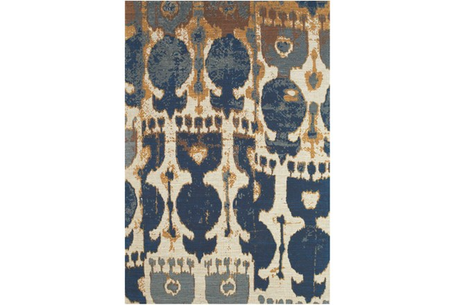 96X132 Rug-Yves Navy And Copper - 360
