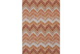 96X132 Rug-Orange Ombre Chevron - Signature