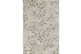 "5'x7'5"" Rug-Grey And Buttercream Faded Vines"