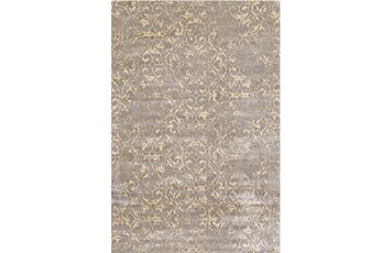 """5'x7'5"""" Rug-Taupe And Buttercream Faded Tapestry"""