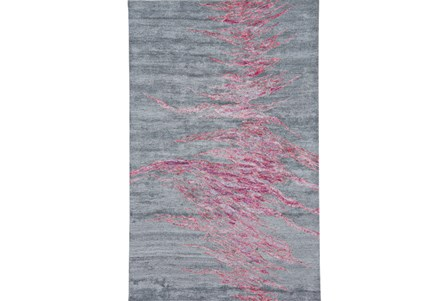 60X96 Rug-Reversible Red Static
