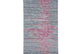 96X132 Rug-Reversible Red Static