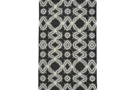 60X96 Rug-Black Tribal Print