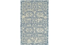 2'x3' Rug-River Blue Distressed Tapestry
