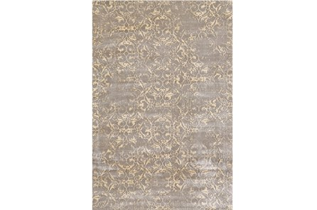 26X48 Rug-Taupe And Buttercream Faded Tapestry - Main