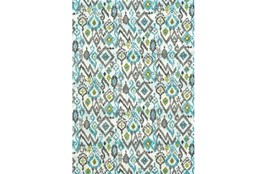 26X48 Rug-Aqua And Kiwikat