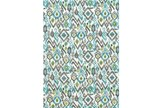 60X96 Rug-Aqua And Kiwikat - Signature