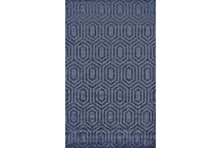 93X117 Rug-Harrison Navy - Main