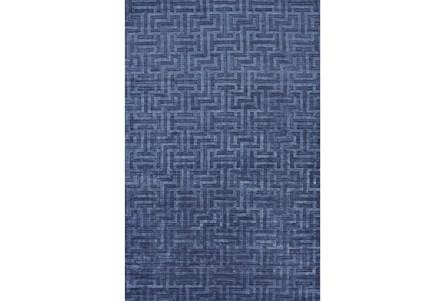 93X117 Rug-Harrison Cobalt