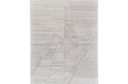 96X132 Rug-Light Grey Abstract Pleats