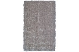 8'x11' Rug-Mottled Grey Shag