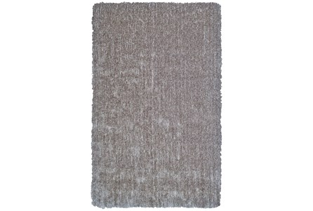 96X132 Rug-Mottled Grey Shag