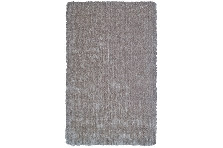 96X132 Rug-Mottled Grey Shag - Main