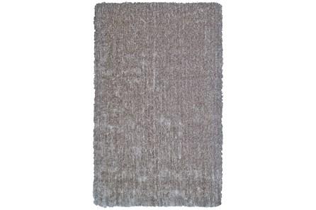 114X162 Rug-Mottled Grey Shag - Main