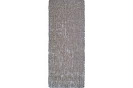 30X96 Rug-Mottled Grey Shag