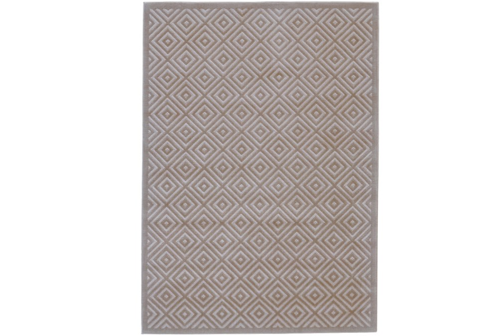 26X48 Rug-Taupe And Birch Diamonds