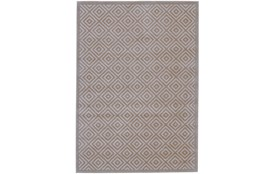 60X96 Rug-Taupe And Birch Diamonds