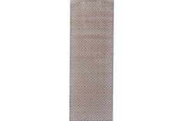 "2'8""x7'8"" Rug-Taupe And Birch Diamonds"