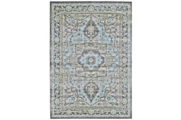 60X96 Rug-Spa And Green Global Traditional Pattern