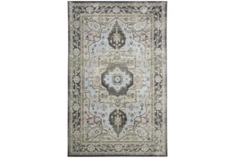 """10'x13'1"""" Rug-Spa And Green Global Traditional Pattern"""