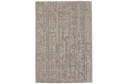 48X72 Rug-Taupe Faux Bois Watermark