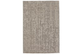 93X117 Rug-Taupe Faux Bois Watermark